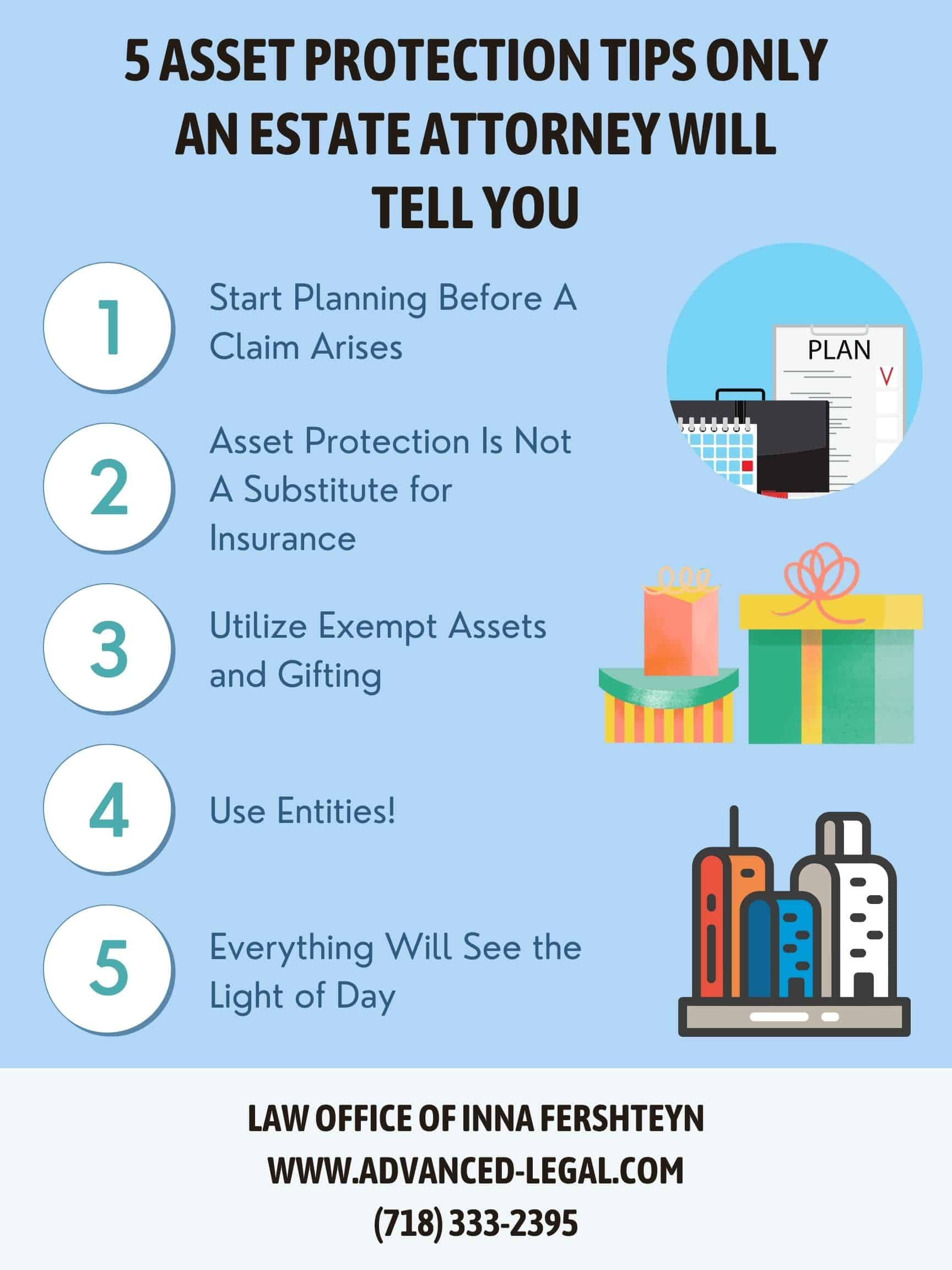 5 asset protection tips only an estate attorney will tell you